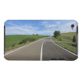 Italy, Tuscany, Val d'Orcia, Road Barely There iPod Cover