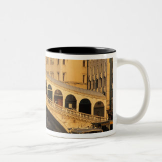 Italy, Veneto, Venice, Canal Grande and Rialto Two-Tone Mug