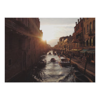 Italy Venice canal Poster