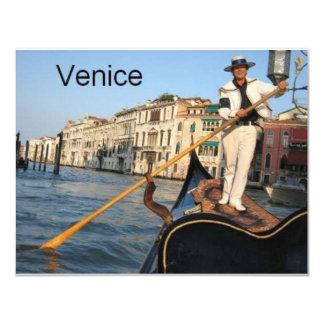 Italy Venice gondola (St.K) Card