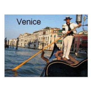 Italy Venice gondola (St.K) Postcard