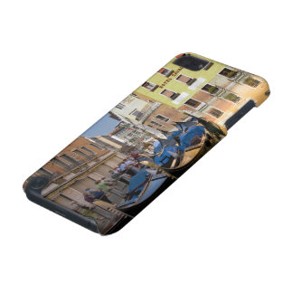 Italy, Venice, gondolas moored along canal iPod Touch (5th Generation) Covers