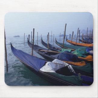 Italy, Venice. Gondolas. Mouse Pad