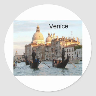 Italy Venice Grand Canal (St.K) Classic Round Sticker