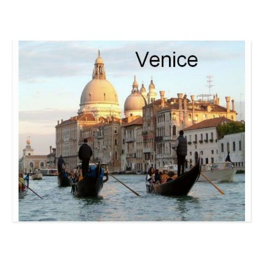 Italy Venice Grand Canal (St.K) Post Card
