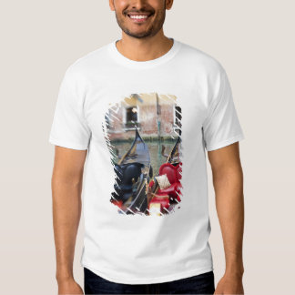 Italy, Venice, Selective Focus of Gondola in the 2 Shirt