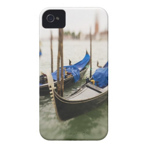 Italy, Venice, Selective Focus of Gondola in the Blackberry Bold Cases