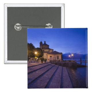 Italy, Verbano-Cusio-Ossola Province, Cannobio. 15 Cm Square Badge