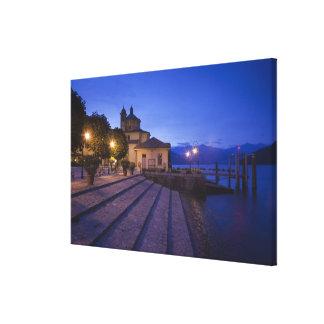 Italy, Verbano-Cusio-Ossola Province, Cannobio. Canvas Print