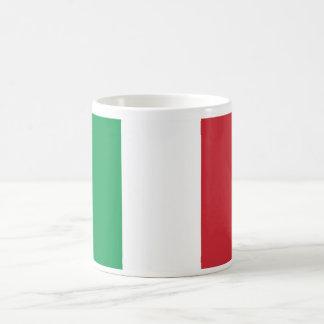 Italy World Flag Basic White Mug