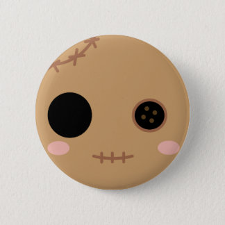 Itami the Voodoo Doll Head 6 Cm Round Badge