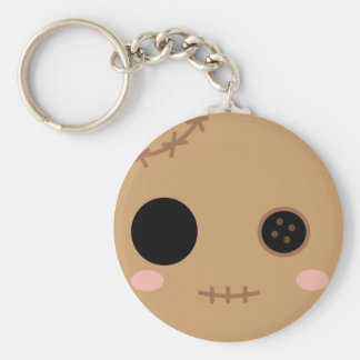 Itami the Voodoo Doll Head Keychain