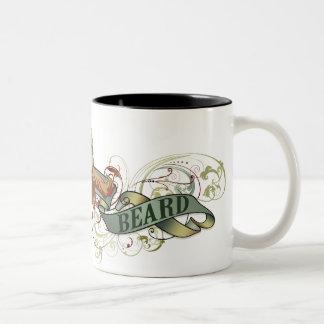 Itchy Beard Two-Tone Coffee Mug