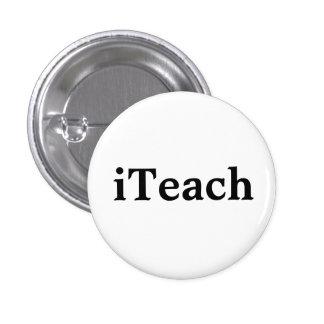 iTeach 3 Cm Round Badge