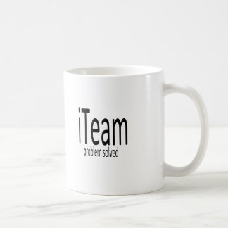 iTeam. Problem solved Mug