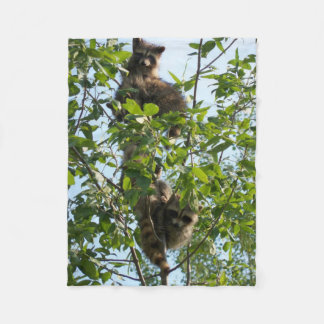 Item featuring cute wildlife fleece blanket