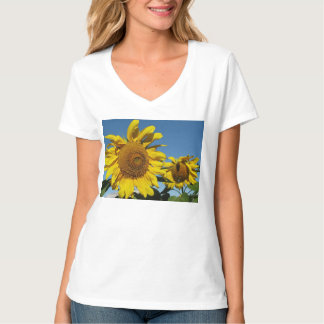 Items featuring cheerful sunflowers tee shirts