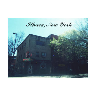 ITHACA NEW YORK canvas