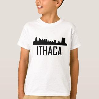 Ithaca New York City Skyline T-Shirt