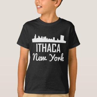 Ithaca New York Skyline T-Shirt