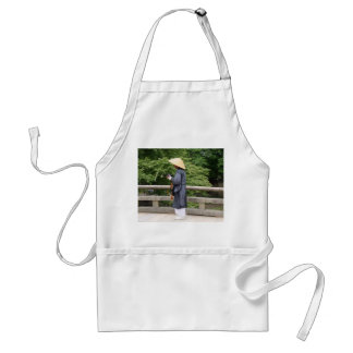 Itinerant monk standard apron