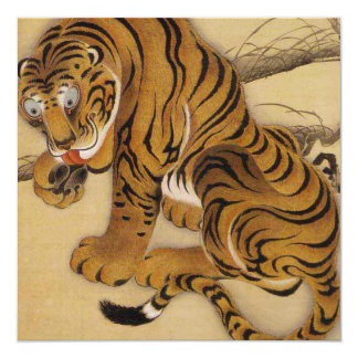 Ito Jakuchu Tiger Invitations