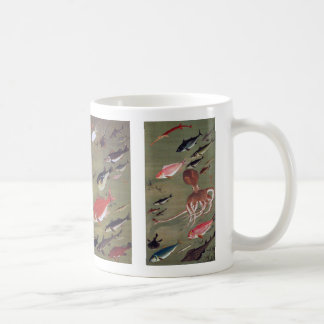 Itoh it is young 冲, 'the group fish figure', itō coffee mug