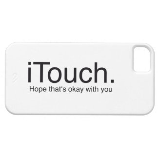 iTouch Joke Barely There iPhone 5 Case