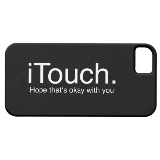 iTouch Joke Case For The iPhone 5