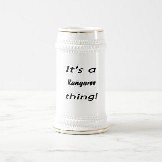 It's a a kangaroo thing! mugs