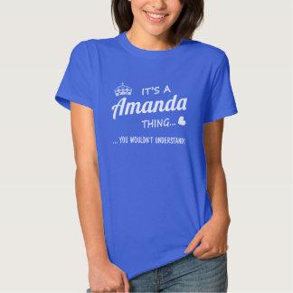 It's a Amanda thing Tshirt