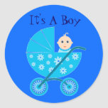It's A Baby Boy Stickers