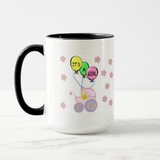 Its A Baby Girl Mug