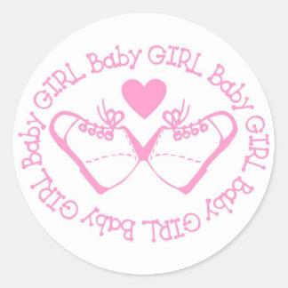 It's a Baby Girl Sticker