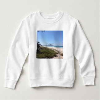 It's a beach sweatshirt