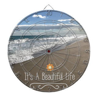 Its A Beautiful Life at the Beach Dart Boards
