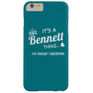 It's a Bennett thing Barely There iPhone 6 Plus Case