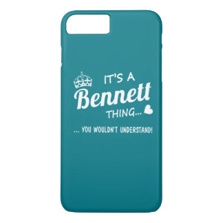 It's a Bennett thing iPhone 7 Plus Case