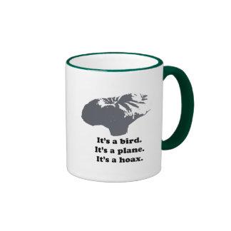 It's a bird. It's a plane. It's a Hoax Mug