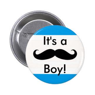 It's a Boy 6 Cm Round Badge