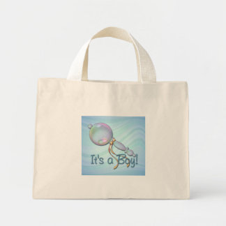 IT'S A BOY BABY RATTLE by SHARON SHARPE Bag