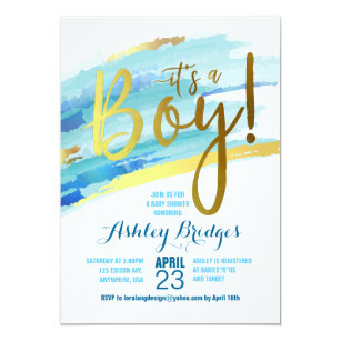 Baby boy shower invitations zazzle its a boy baby shower invitation filmwisefo