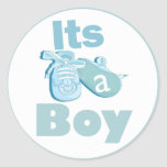 It's a Boy Baby Shower Sticker
