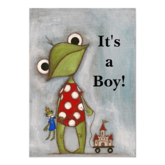 It's a Boy! - Birth Announcement