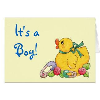 It's a , Boy! Card