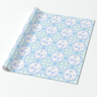 """""""It's a Boy!"""" Gift Wrapping Paper"""