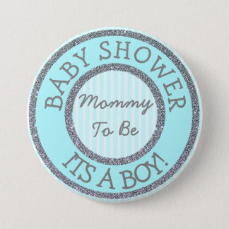 It's a Boy, Mom to be Baby Shower Button