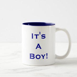 It's A Boy! Coffee Mugs