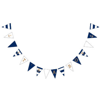 It's a Boy | Nautical Baby Shower Bunting