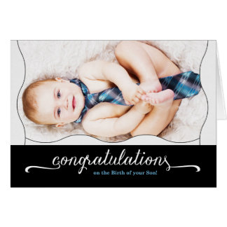 It's a Boy New Baby Congratulations Greeting Card
